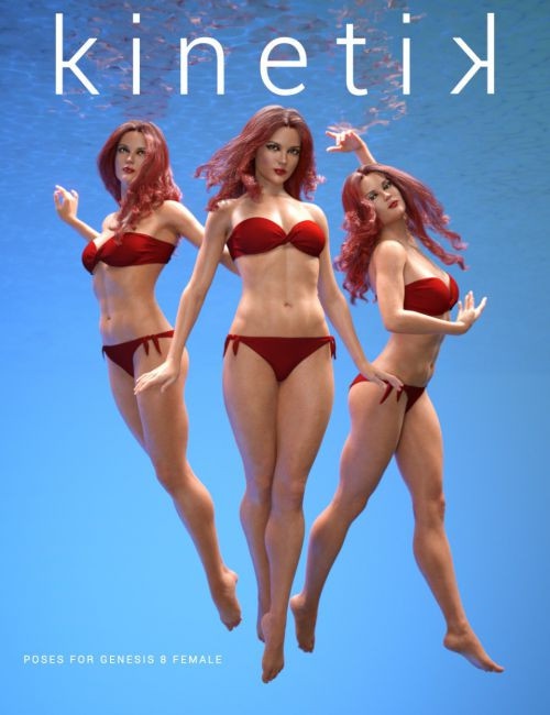 Kinetik Poses for Genesis 8 Female