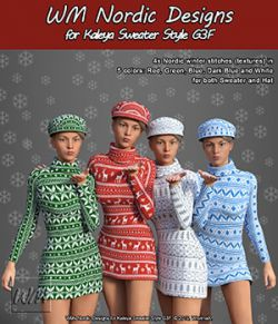 WMs Nordic Designs for Kaleya Sweater Style G3F