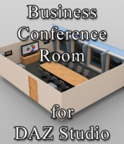 Business Conference Room - or DAZ Studio