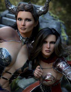 Domino HD for Genesis 3 & 8 Female