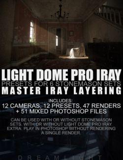 Light Dome PRO Iray - Render Presets - Master Iray Layering