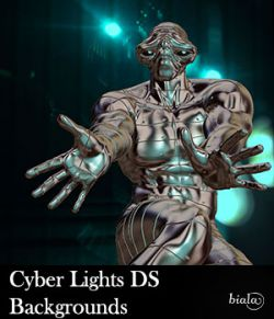 Cyber Lights DS Backgrounds