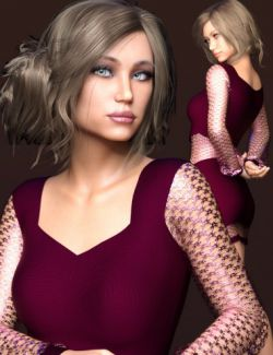 Emilya HD & Dress for Genesis 8 Female