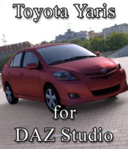 Toyota Yaris for DAZ Studio