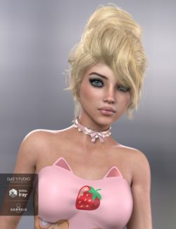 Pina Hair for Genesis 3 and 8 Female(s)