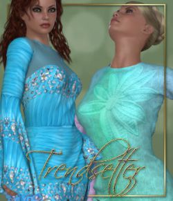 DA-Trendsetter for DC Intrigue V4 by kaleya