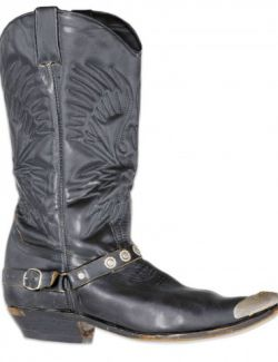 OBJ - Cowgirl Boots Leather