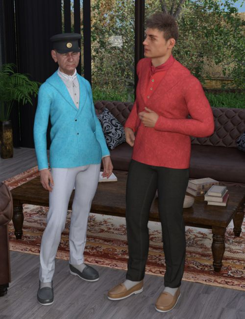 Aristocrat Outfit for Genesis 8 Male(s)