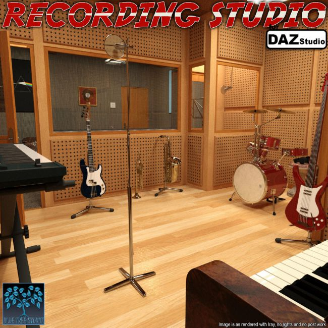 Recording Studio for Daz Studio
