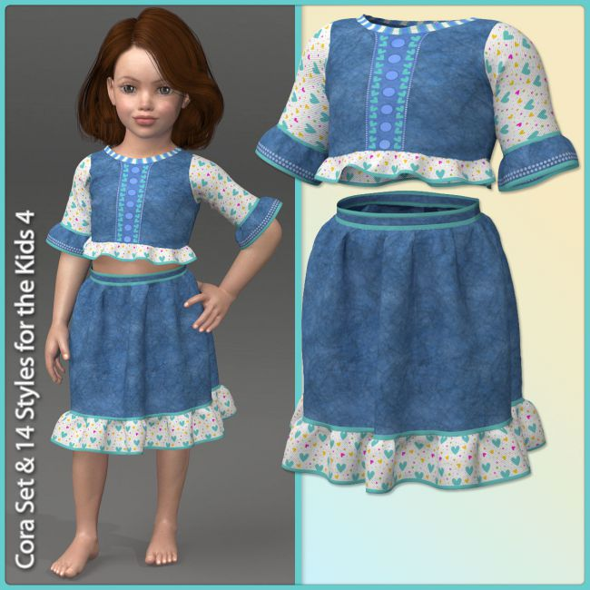 Cora Set for the Kids 4