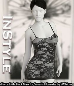InStyle- dForce Little Black Minx for Genesis 8 Females