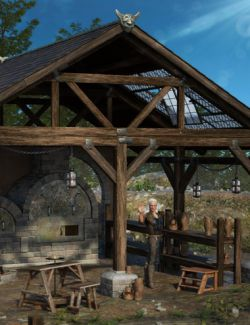 Muelsfell Modular Medieval Kiln & Workshop