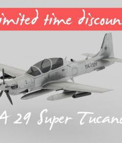 A 29 Super Tucano - Extended License