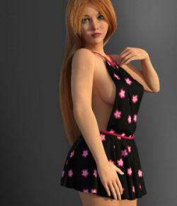 dforce Backless Dress for G3F G8F