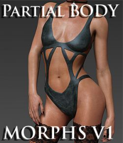 Partial Body Morphs G8F Vol 1