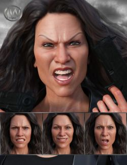 No Mercy- Expressions for Genesis 8 Female and Sydney 8