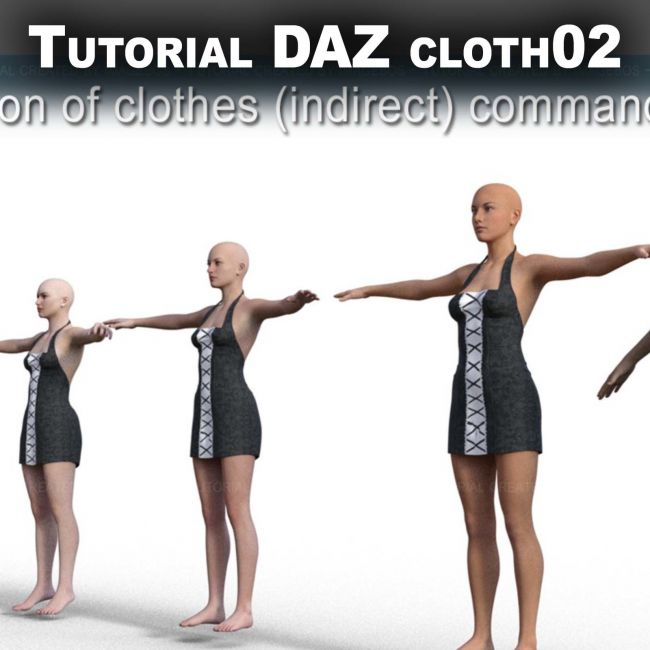 Conversion DAZ clothes