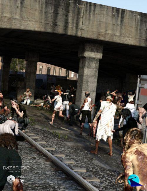 Now-Crowd Billboards - Zombie Apocalypse