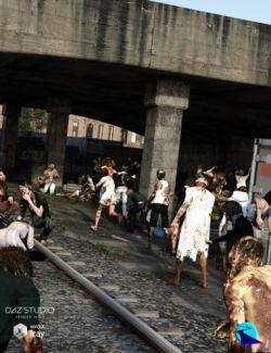 Now-Crowd Billboards- Zombie Apocalypse
