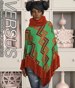 VERSUS - dForce Classic Poncho for G8F