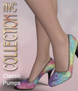 NYC Collection: Classic Pumps Genesis 8 Female