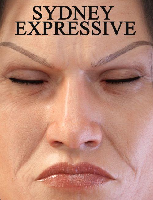 Sydney Expressive for Sydney 8 and Genesis 8 Female