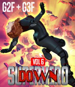 SuperHero Down for G2F and G3F Volume 6