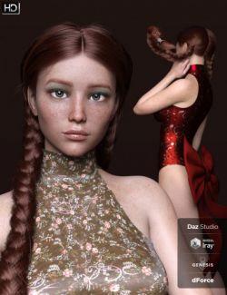AprilRose HD for Genesis 8 Female