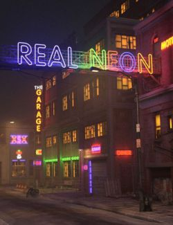 Real Neon Letters