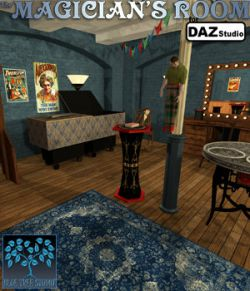 The Magician's Room for DAZ Studio