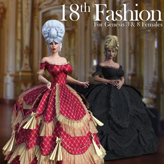 18th Fashion for G3 females and G8 females