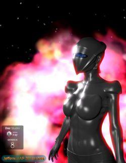 Silver Woman for Genesis 8 Female