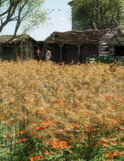 Wild Flower Plants vol 4- Wheatfields