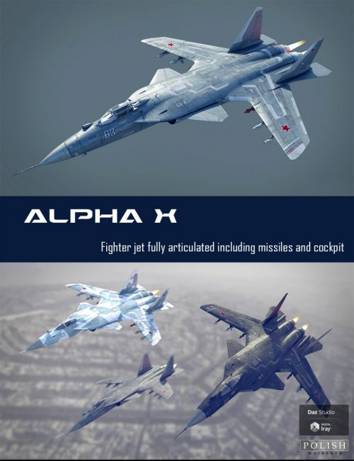 Alpha X Fighter Jet