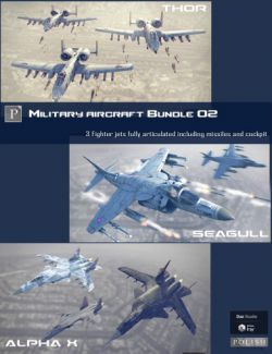 Military Aircraft Bundle 02