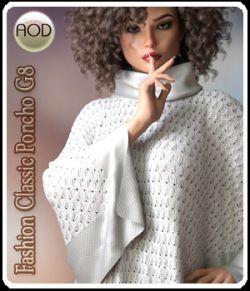 Fashion Classic Poncho G8