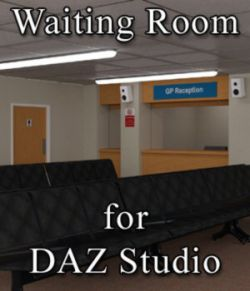 Waiting Room for DAZ Studio