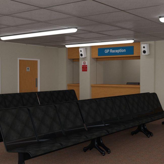 Waiting Room for DAZ Studio