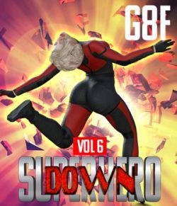 SuperHero Down for G8F Volume 6