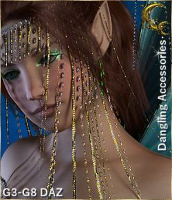 Dangling D-Force Accessories for G3-G8 DAZ Studio