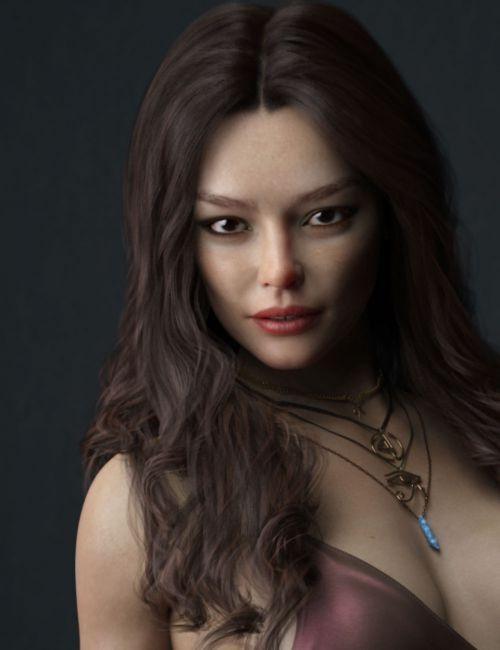 Inge HD for Genesis 8 Female