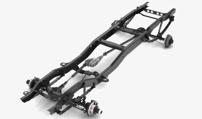 PICKUP TRUCK CHASSIS 4WD - Extended License