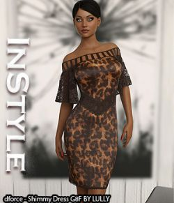 InStyle- dforce- Shimmy Dress G8F