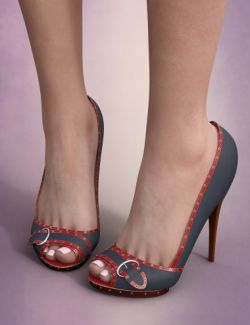 Seductive High Heels for Genesis 8 Female(s)