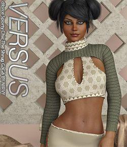 VERSUS - dforce Sporty Chic The Shrug G3G8