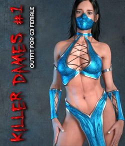 Exnem Killer Dames 1 for Genesis 3 Female