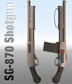 SG-870 Shotgun Set
