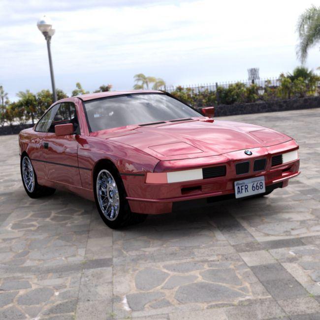 BMW 850 I for DAZ Studio