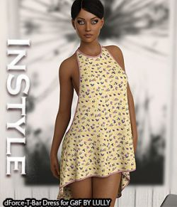 InStyle- dForce-T-Bar Dress for G8F
