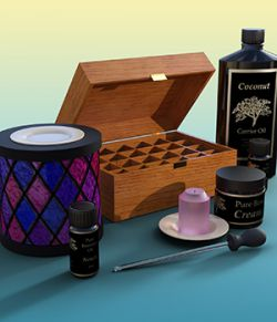 The Aromatherapy Collection For Daz Studio IRAY